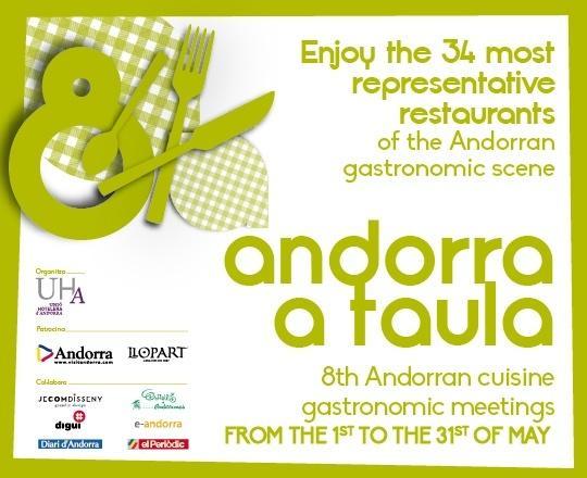 Andorra a taula 8th andorran cuisine gastronomic meetings for Andorran cuisine