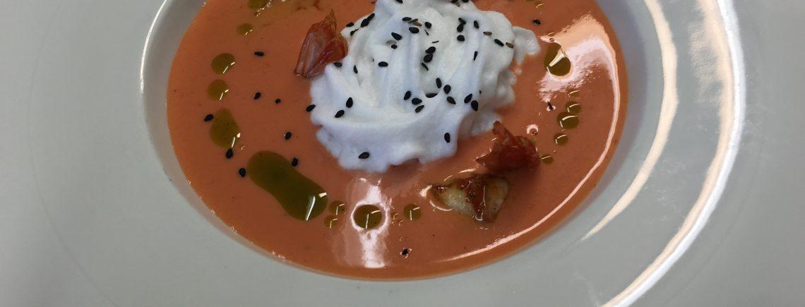 gazpacho tomate fresas